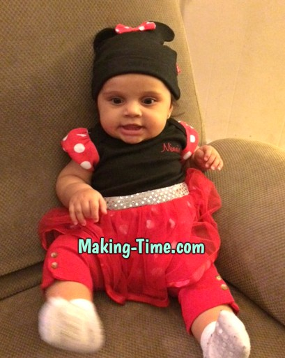 Baby S as Minnie