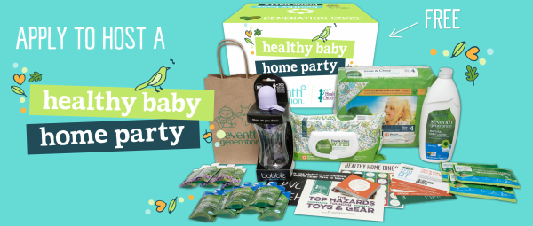 Making Time for a Healthy Baby Home Party