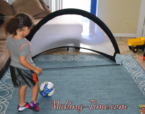 Soccer Goal in Home