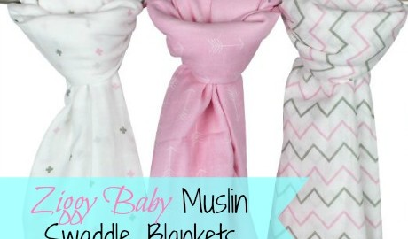 Making Time for Baby Blanket Love with Ziggy Baby Muslin Swaddle Blankets