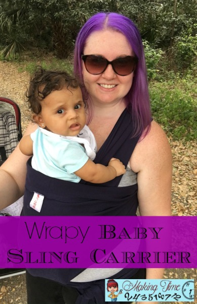Making Time for Baby Wearing with Wrapy