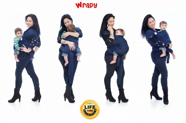 Wrapy Baby Sling Carrier