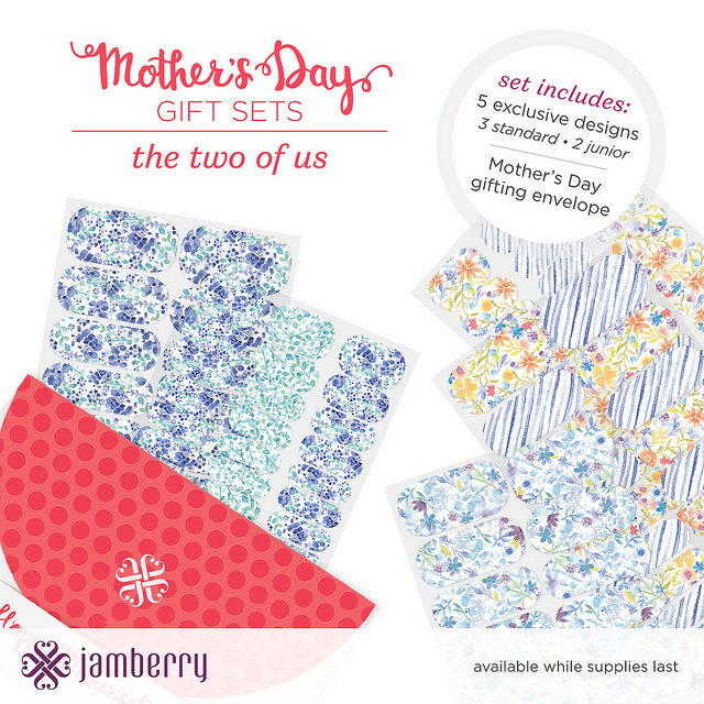 A Jamberry Mother's Day gift set is all mom ever wanted!