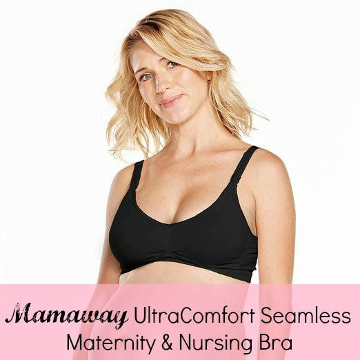 Making Time for Nursing Comfort with the MamaWay UltraComfort Seamless Maternity & Nursing Bra