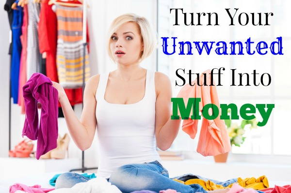 Making Time for Spring Cleaning - Turn Your Unwanted Stuff Into Money