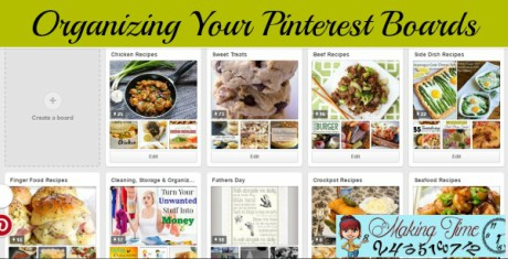 Have you ever gone to your Pinterest to look for something you know you pinned, but can't find it? It's probably time to organize your Pinterest boards.