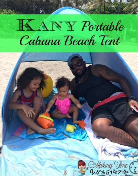 Making Time for Fun in the Sun: Kany Portable Cabana Beach Tent
