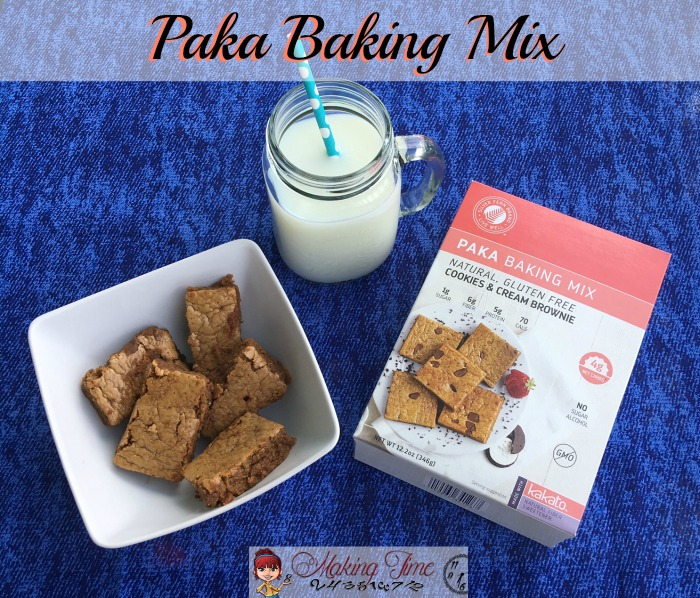 Paka Baking Mixes are low in calories, low in sugar and net carbs, and high in fiber and protein. Now you can satisfy your sweet tooth without any guilt!