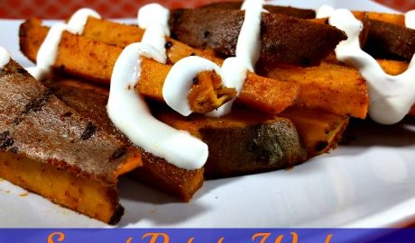 This Sweet Potato Wedges #recipe is one the whole family will love, especially with a little Daisy Sour Cream to top off the wedges. #DollopOfDaisy #GotItFree