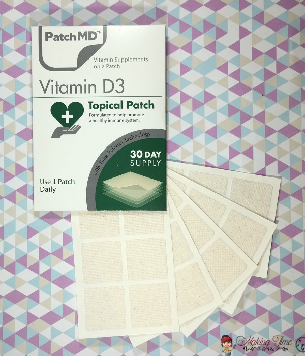 PatchMD Vitamin Supplement Patches are the easiest, most effective way to stay healthy.