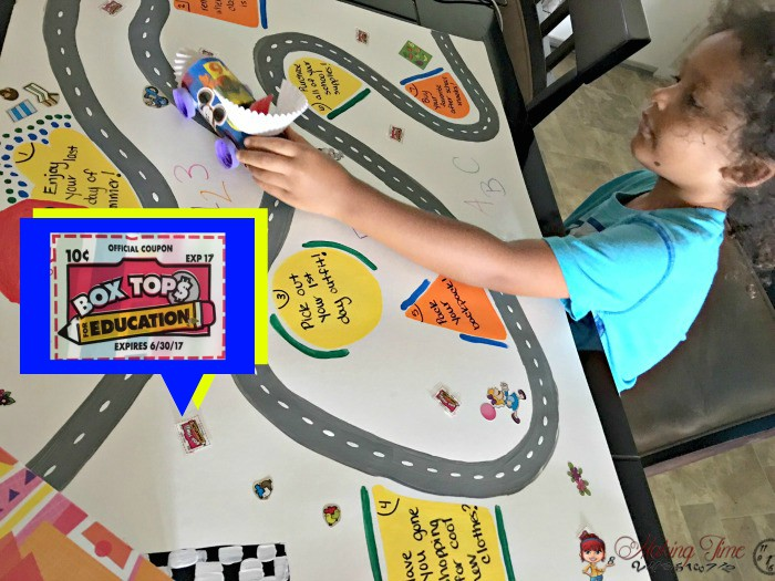 Race to the 1st Day of School feat. Box Tops for Education #EarnDoubleAtWalmart