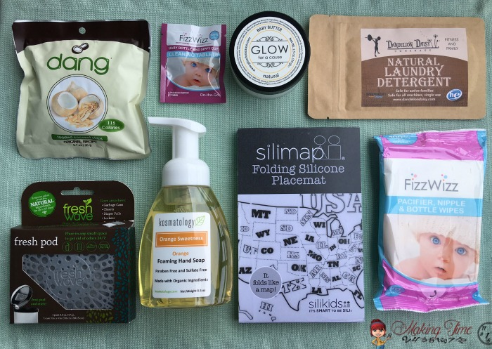 Every mom needs an Ecocentric Mom subscription box. And with 3 options - Pregnancy, Mom & Baby, or Mom - there's something for EVERY new or veteran mom. #ecocentricmom #subscriptionbox #ad
