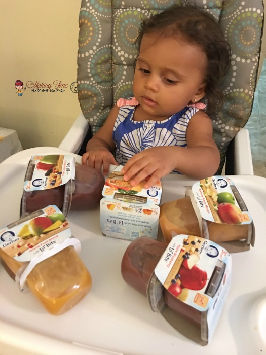 With this #recipe calling for @Gerber 3rd Foods Lil' Bits, my little one can enjoy the same fall flavors I've come to love and is also learning to chew and eat solid food. #GerberBabies