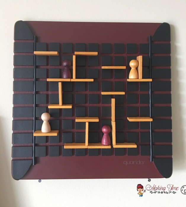 Have you ever thought about using some of your board games as simple, yet functional home decor? The games Quarto and Quoridor from Gigamic are perfect for just that! Their simple elegance will surely add some character to any room. Check out these 3 functional decorating ideas I've been enjoying in my home using both of these brain games. #functionaldecorating #BrainGames