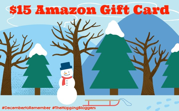 Enter to win a $15 Amazon gift card from Making Time + link to many more blogger giveaways! #DecembertoRemember #TheHoppingBloggers #giveaway