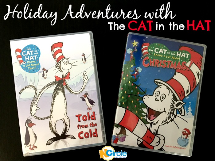 """Here we go go go go, on an adventure! The Thinga-Ma-Jigger is up and away. Go go go go, on an adventure. We're flying with the Cat in the Hat today!"" Enter today to #win two Cat in the Hat holiday features from NCircle Entertainment and enjoy some fun filled adventures with the ever classic Cat in the Hat! #giveaway #giftidea #HolidayGiftGuide"