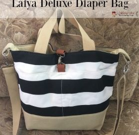 5 Reasons to Love the Laiya Deluxe Diaper Bag + 50% Off #diaperbag #baby