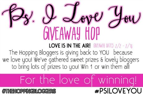 The #PSILoveYou #giveaway hop is on fire! Enter to #win the grand prize + a #Jamberry Prize Pack + many more prizes! #TheHoppingBloggers