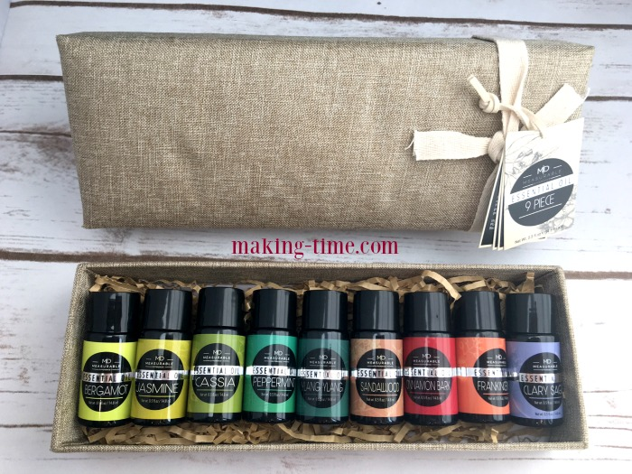 This Essential Oils 9-Piece Set from Chrislie is perfect for any home! The set is so much more than your basic oils and is by far my favorite essential oils set to date! Head over to the blog to find out more about this Chrislie set and get your 70% off promo code! #Chrislie #essentialoils