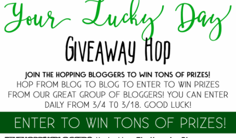 Your Lucky Day #Giveaway Hop! Head over to the blog and get started with a Chrislie Essential Oils 9-Piece Set giveaway ($46.99 retail value) and then hop to the other blog giveaways! Good Luck! #giveaway #Chrislie #essentialoils #TheHoppingBloggers #YourLuckyDay