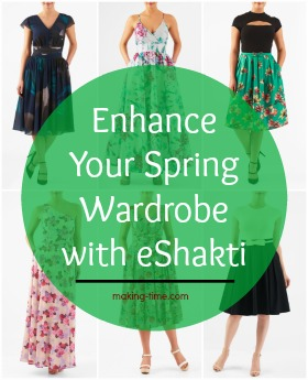 Is your wardrobe ready for spring? If you need to make a few (or a lot of) enhancements, eShakti is the place to shop! With the largest selection of styles, colors and pieces for women sizes 0-36, and the ability to customize just about everything, eShakti will have your wardrobe ready for the warmer weather. And don't forget the $25 you get off your first purchase! #eShakti #dresses #springwardrobe