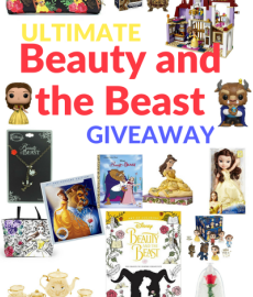Are you excited for the new Beauty and the Beast movie release? Well, let's take that excitement up a notch with the Ultimate Beauty and the Beast Giveaway! Enter to win a grand Beauty and the Beast prize pack, worth almost $300! It's definitely a prize pack any true fan would adore! #BeOurGuest #BeautyandtheBeast #TheHoppingBloggers