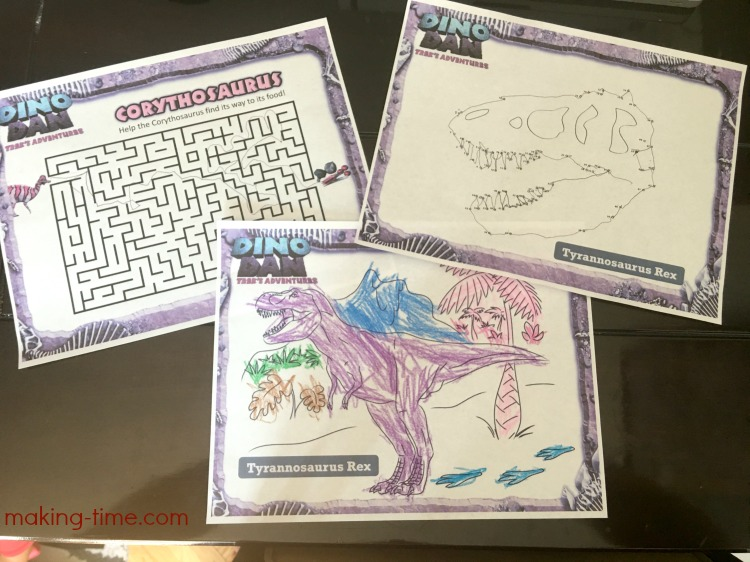Dinosaur Fun with Dino Dan + Free Printable Activities #NCircleEntertainment #DinoDan
