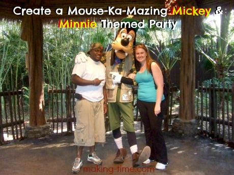 Create a Mouse-Ka-Mazing Mickey & Minnie Themed Party #Disney #MickeyMouse #MinnieMouse