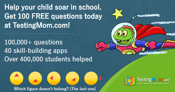 TestingMom.com is the perfect tool to help your child succeed, from Pre-K through 8th grade. With a variety of practice tests and subjects to choose from, and a large array of fun interactive learning games, your child is sure to educationally succeed! Start by downloading 100 FREE questions today! #TestingMom #TMInfluencer #ad