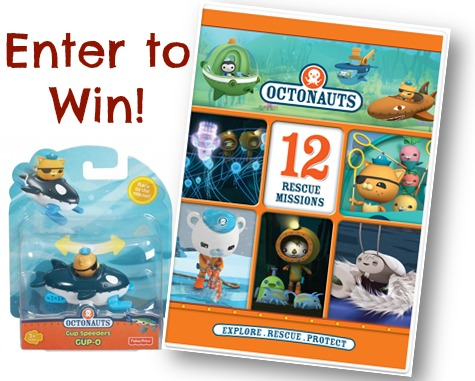 "Enter to win a copy of the NCircle Entertainment's new release of ""Octonauts: 12 Rescue Missions"" + an Octonauts toy! #giveaway #NCircleEntertainment #Octonauts"