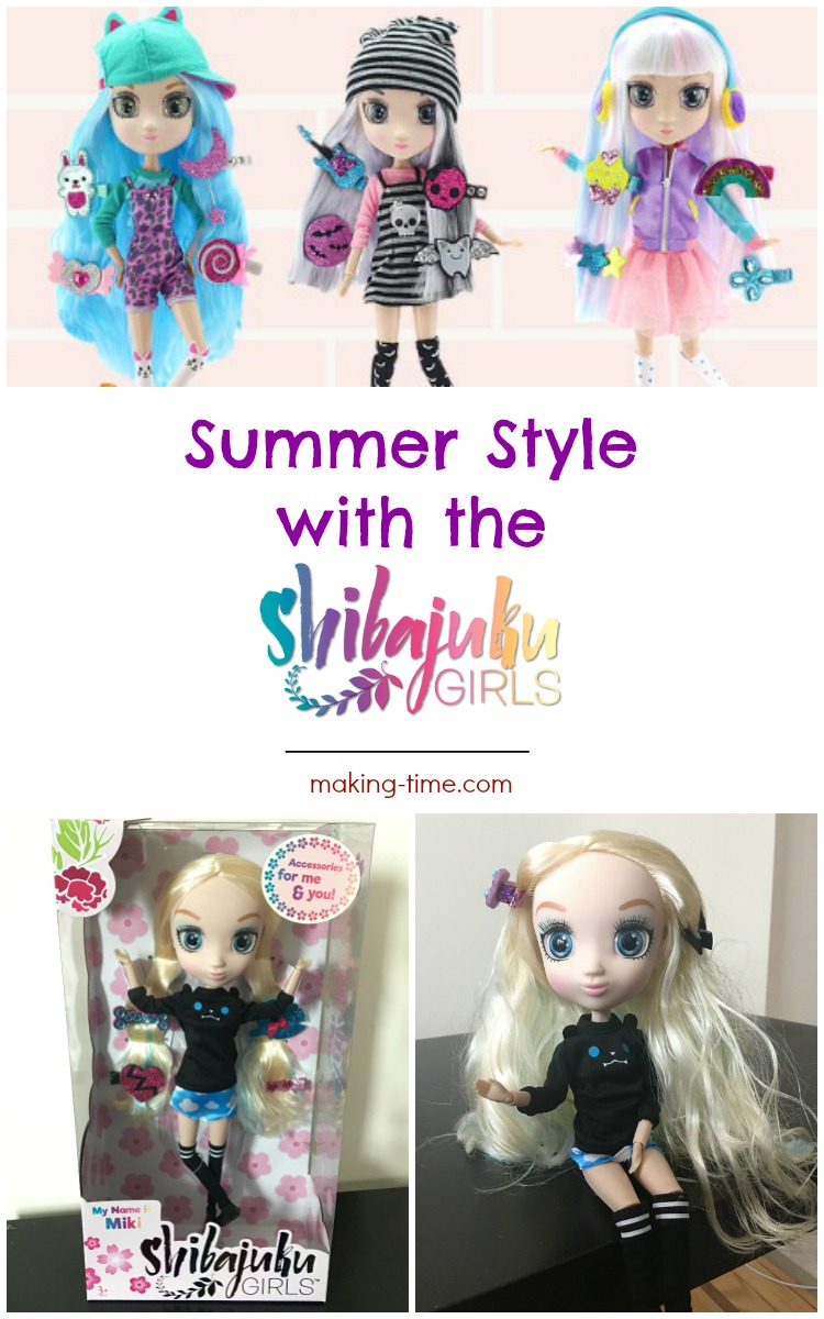 Shibajuku Girls are the perfect dolls for the little fashionista in your life! Each with different personalities and personal qualities, Shibajuku Girls are showing off their uniqueness through their outfits and accessories. Which Shibajuku Girl complements your little fashionista? #ShibajukuGirls #ShibajukuStylin #SummerFun