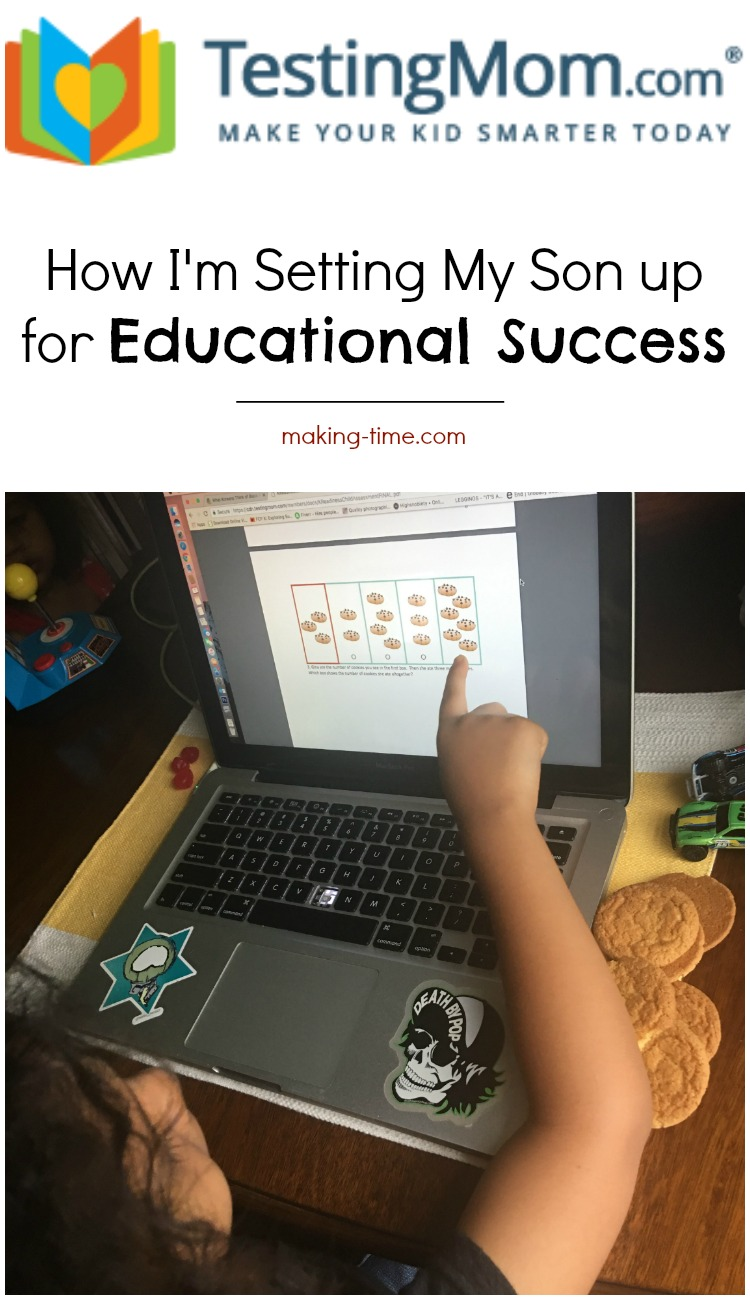 TestingMom.com is the perfect tool to help your child succeed, from Pre-K through 8th grade. With a variety of practice tests and subjects to choose from, and a large array of fun interactive learning games, your child is sure to educationally succeed! Just take the step to make learning work for them! #TestingMom #TMInfluencer #ad