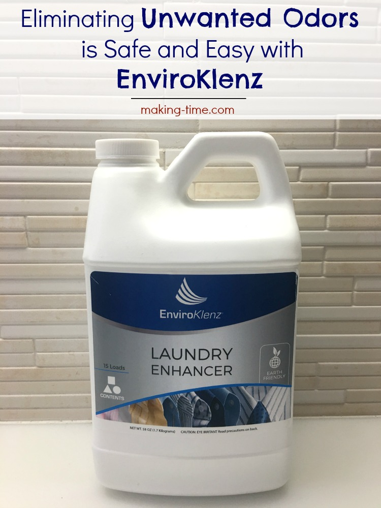 Starting to feel like your home is being overrun with odors? Musty linens, sweaty sports gear, laundry pile starting to stink? Add a little EnviroKlenz Laundry Enhancer to the wash and the odors will safely and naturally disappear! Head over to the blog to learn more and check out my experience. #EnviroKlenz #NonToxic #MultipleChemicalSensitivity #SpringCleaning #laundry #odorelimination