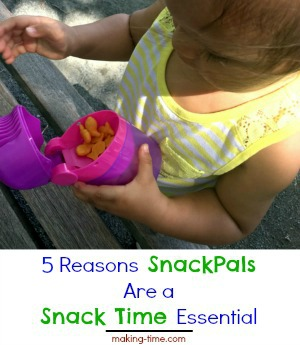 5 Reasons SnackPals Are a Snack Time Essential #WowGear #SnackPals #snacktime #portioncontrol