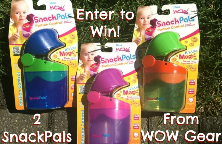 Take back snack time and enter to win 2 SnackPals from WOW Gear! #snacktime #giveaway #WOWGear #BTS #backtoschool