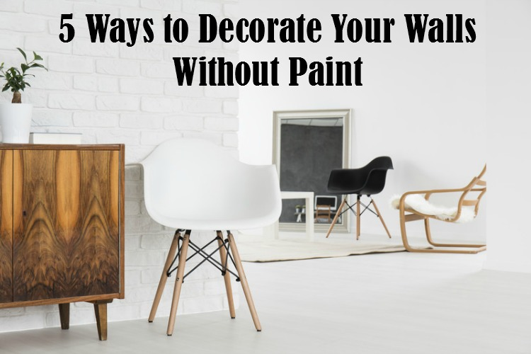 5 Ways to Decorate Your Walls Without Paint | #CanvasFactory #canvasprint #walldecor #decorating #giveaway