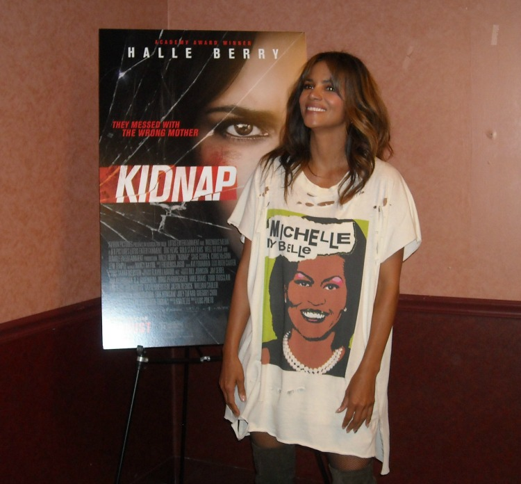 KIDNAP Movie Screening + Halle Berry #KidnapMovie #DontMessWithMom #HalleBerry #moviescreening #LoewsAMC34th