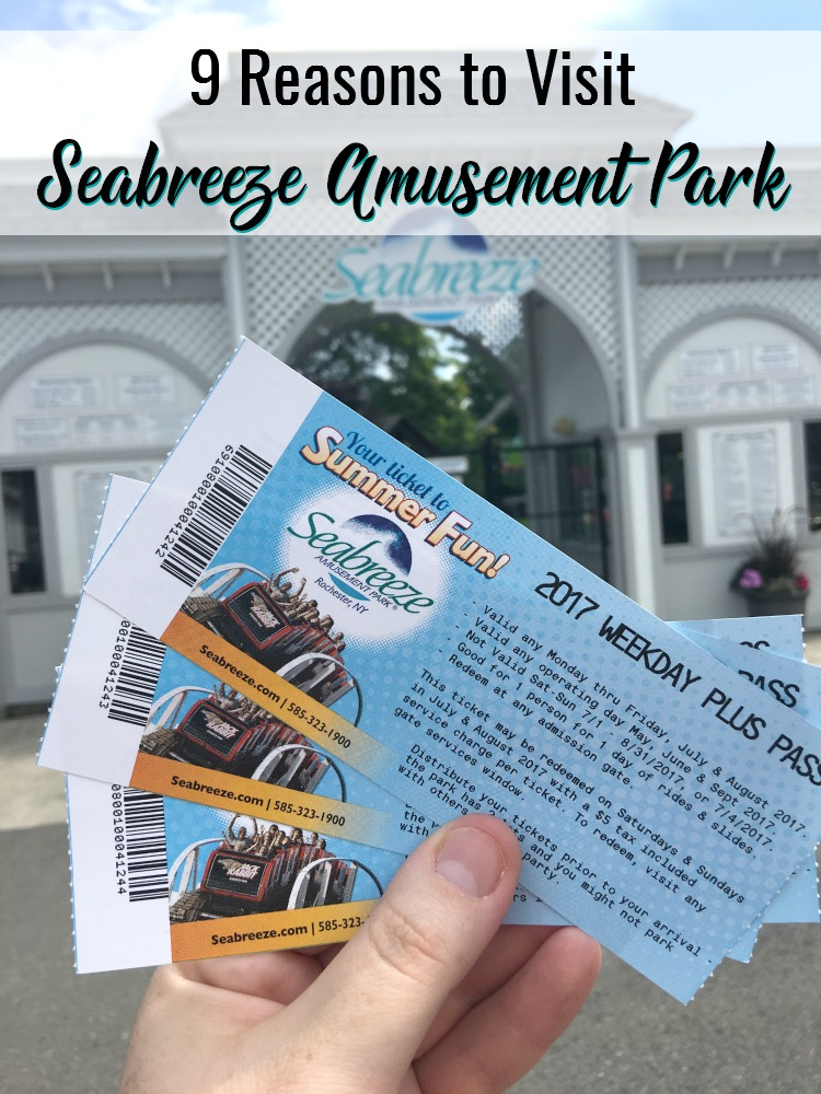 9 Reasons to Visit Seabreeze Amusement Park | #Seabreeze #SeabreezeAmusementPark #summerfun #backtoschool #BTS