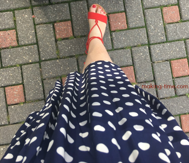 Pretty in Polka Dots | #SocietyPlus #polkadots #skirt #plussizefashion #fashion #womensfashion