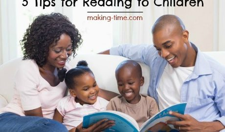 5 Tips for Reading to Children | #reading #ilovetoread #smartkids