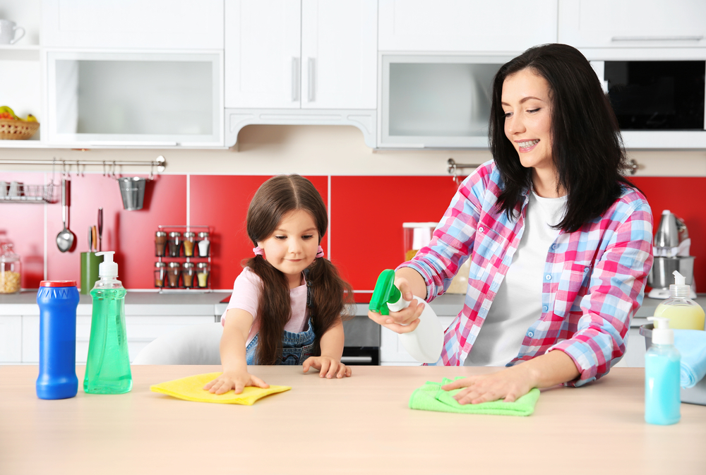 House Cleaning Habits for the Whole Family | #cleaning #chores