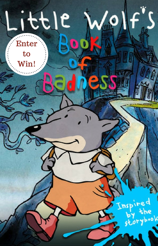 The Little Wolf's Book of Badness + Giveaway | #NCircleEntertainment #DVD #giveaway