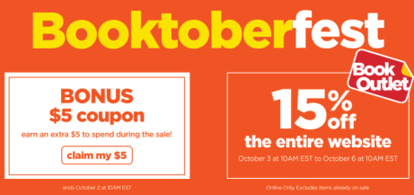 Booktoberfest at Book Outlet | #Booktoberfest #BookOutlet #sale #books #promotion #discountbooks