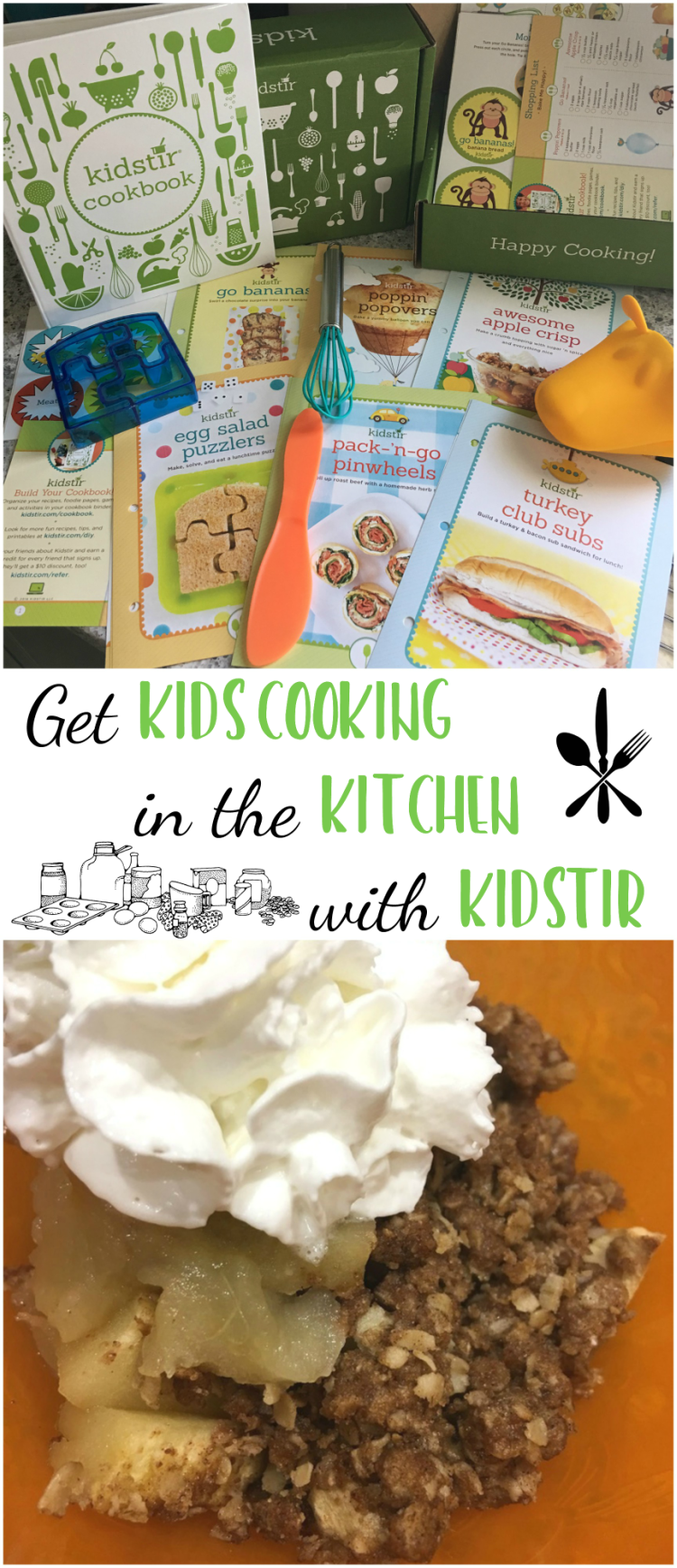 Get Kids Cooking in the Kitchen with Kidstir | #Kidstir #kids #cooking #kitchen #subscription