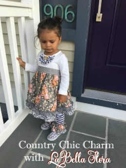 Country Chic Charm with Labella Flora | #countrychic #LaBellaFlora #childrensboutique #Serendipity