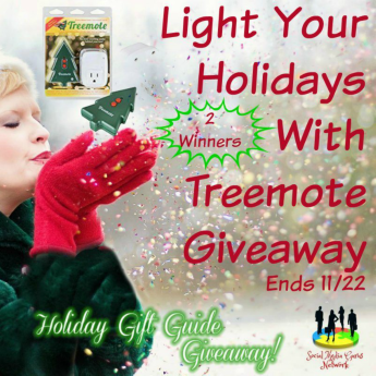Light Your Holidays with Treemote | #Treemote #giveaway #ChristmasTree #holidaydecor