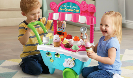I Scream, You Scream, We All Scream for LeapFrog's Scoop & Learn Ice Cream Cart | #LeapFrog #HolidayGiftGuide #giftidea