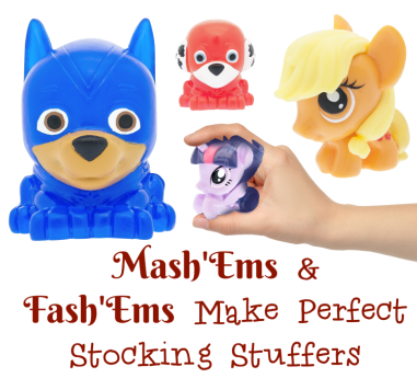Mash'Ems & Fash'Ems Make Perfect Stocking Stuffers | #MashEms #FashEms #stockingstuffer #giftidea #HolidayGiftGuide #Tech4Kids