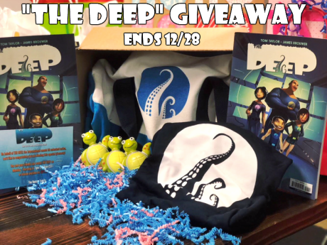 """The Deep"" Prize Pack Giveaway 