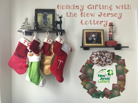 On the First Day of Christmas My True Love Gave to Me, a NJ Instant Lottery Wreath | #NewJerseyLottery #Win #Play #NJLotteryHoliday
